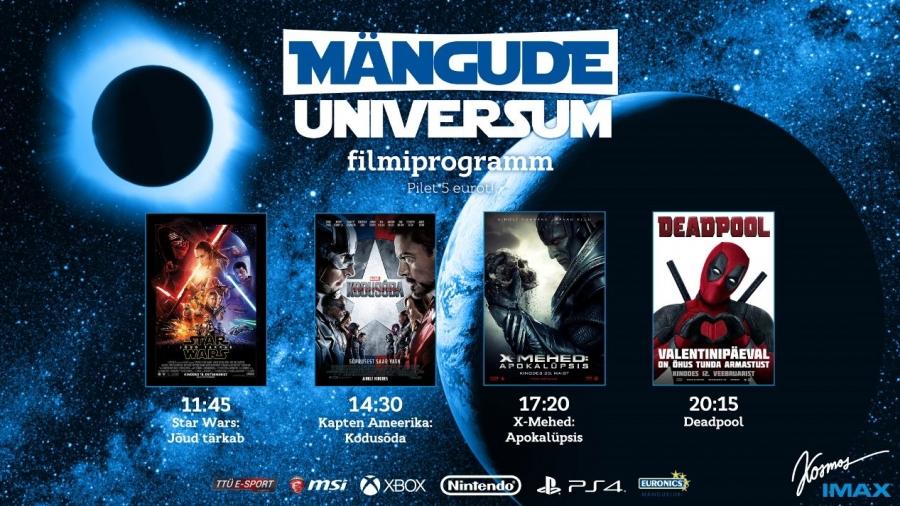 b932625b95e Laupäeval kino Kosmose IMAXis mängitakse