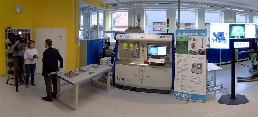 3D printimine on tavaline, aga karmimad prindivad juba metalli - TTÜs näidati metalliprinterit
