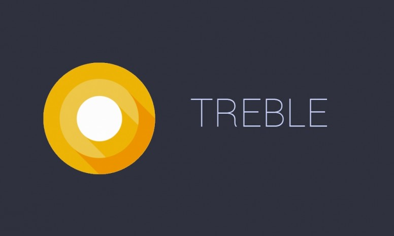 Android treble, logo