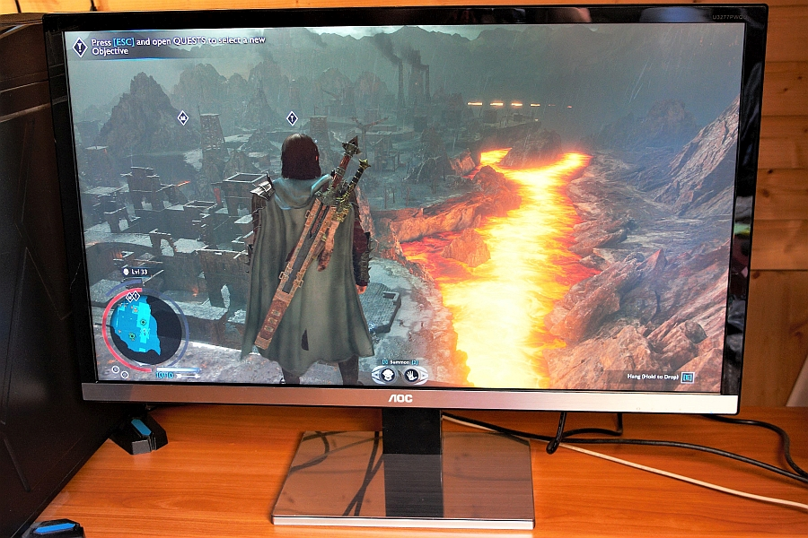 Shadow of War AOC monitoril. Foto: Jonne Pitk