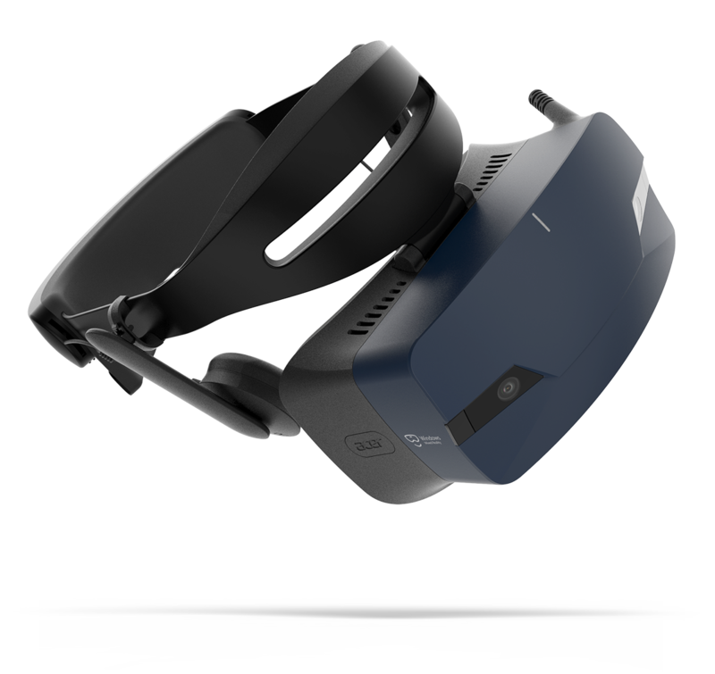 Acer OJO 500 Windows Mixed Reality Headset.