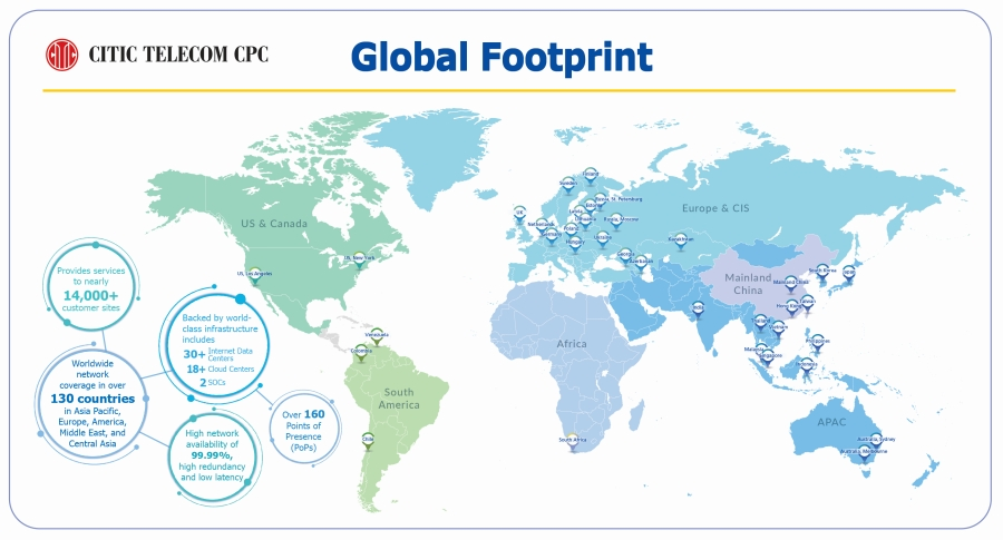CITIC Global Footprint.