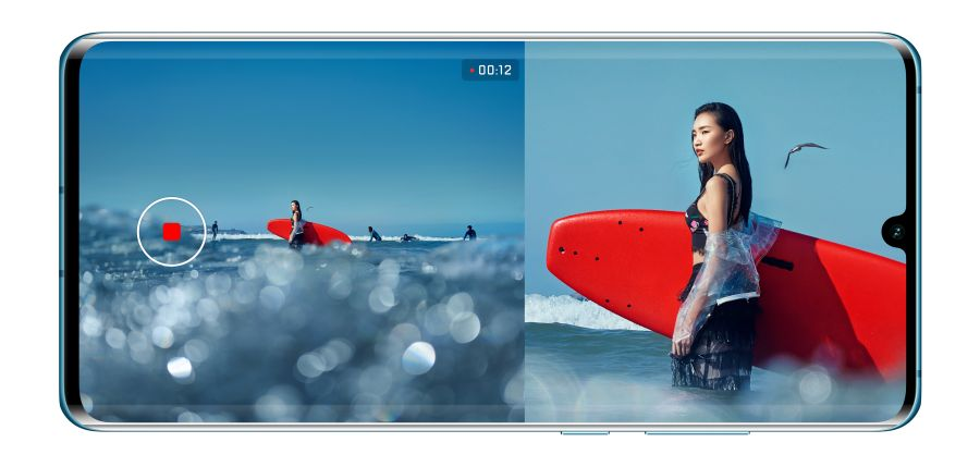 Dual video Huawei mobiilis.