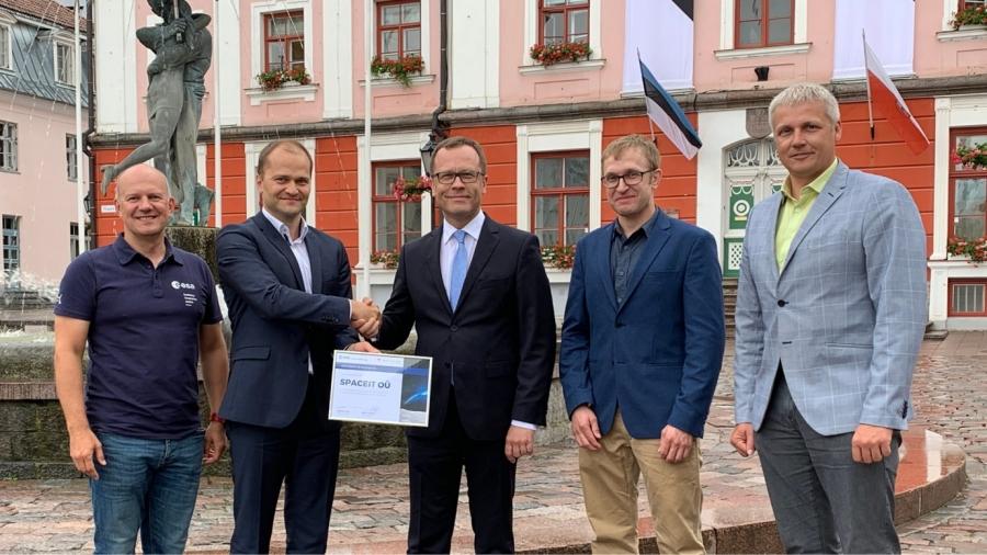 Eesti kosmose startup ettevõte Spaceit lendab Tartust Pariisi