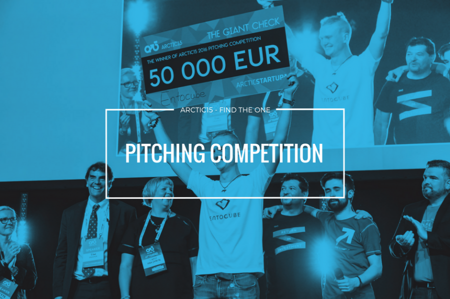 Artcic15 pitching competition.