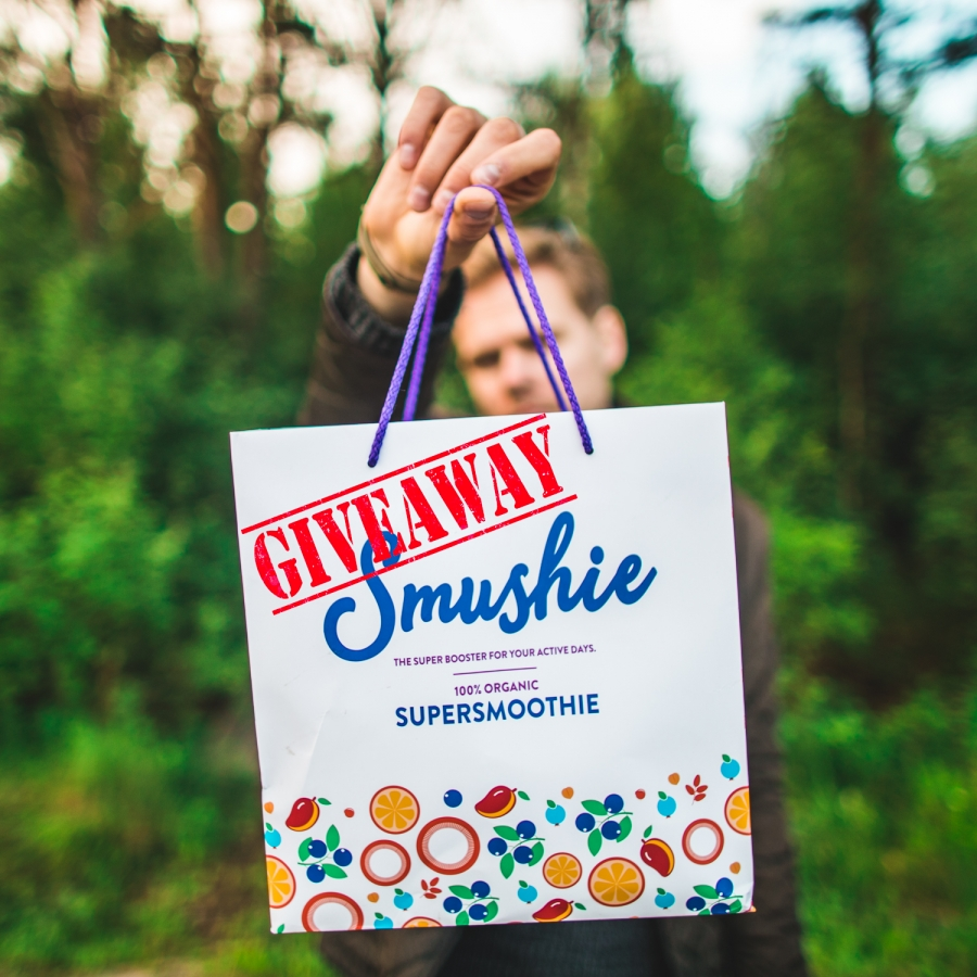 Smushie Salvest Smuuti giveaway