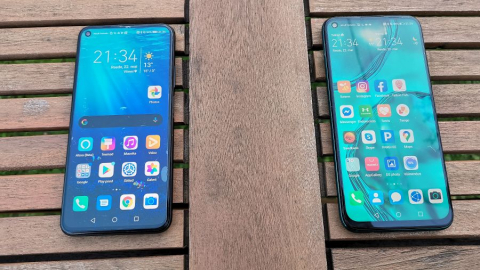 Honor 20 vs Huawei P40 Lite.